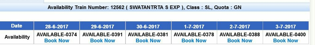 online railway ticket book