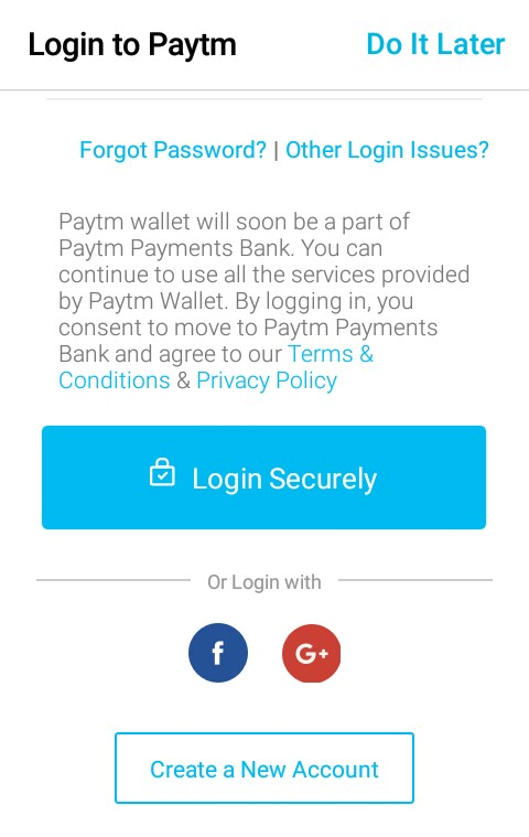 paytm account banaye