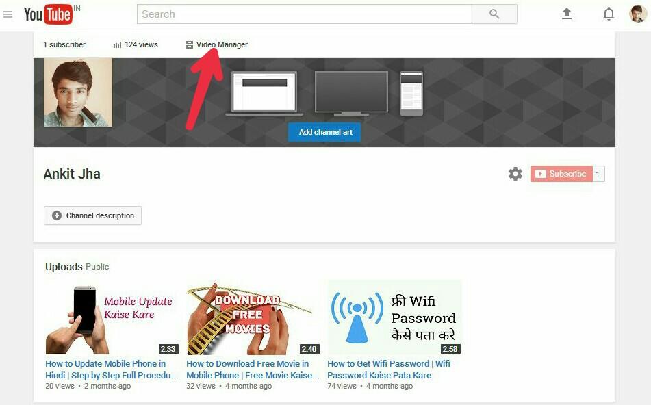 youtube paise kamaye