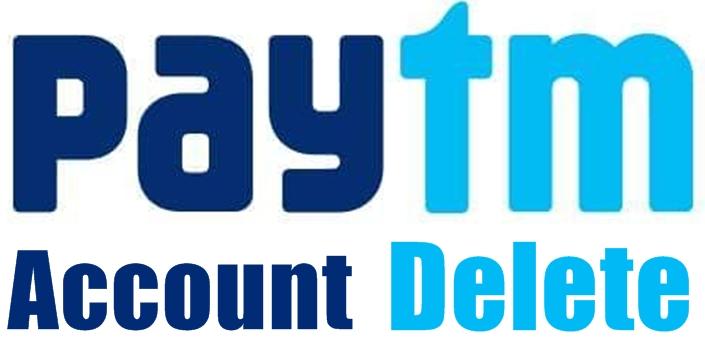 paytm account delete