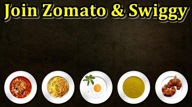 zomato & swiggy